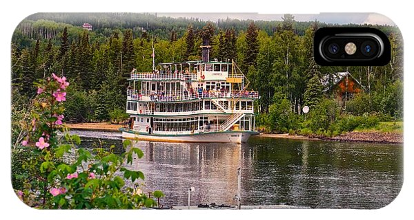 Alaskan Sternwheeler The Riverboat Discovery IPhone Case