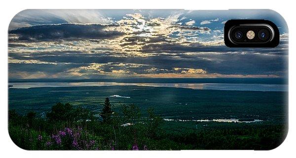 Alaskan Summer Sunset IPhone Case