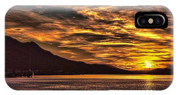 Alaskan Sunset IPhone Case