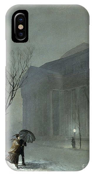 Albany In The Snow IPhone Case