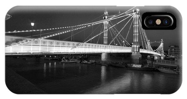Albert Bridge At Night  IPhone Case