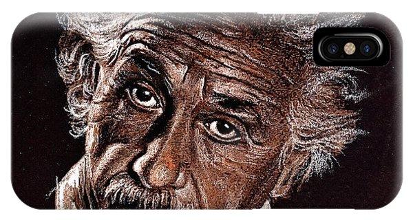 Albert Einstein Portrait IPhone Case