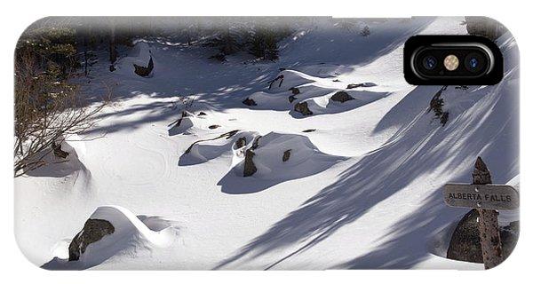 Alberta Falls In Estes Park Colorado IPhone Case