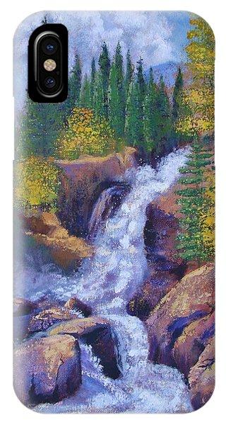 Alberta Falls IPhone Case