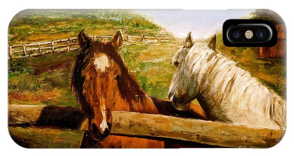 Alberta Horse Farm IPhone Case