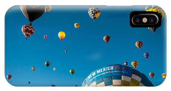 Albuquerque Balloon Fiesta 12 IPhone Case
