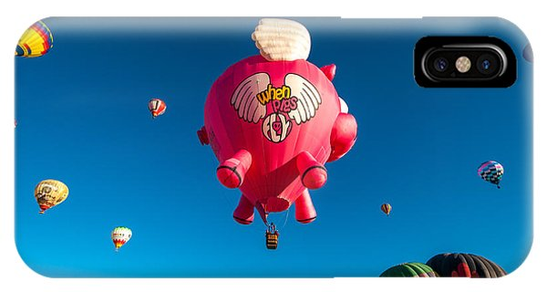 Albuquerque Balloon Fiesta 13 IPhone Case