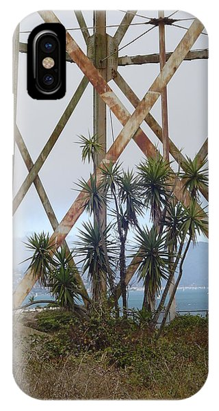 Alcatraz Contrasts Phone Case by Vadim Levin