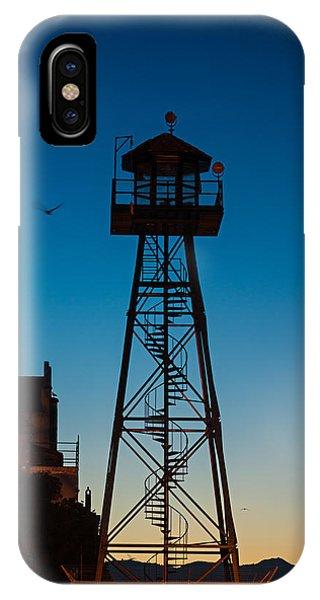 Alcatraz Guard Tower IPhone Case