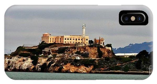 Alcatraz Island - The Rock IPhone Case