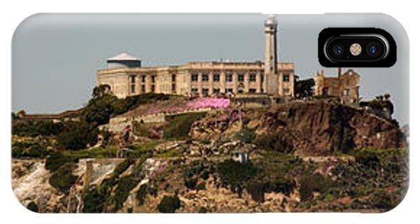 Alcatraz Panorama IPhone Case