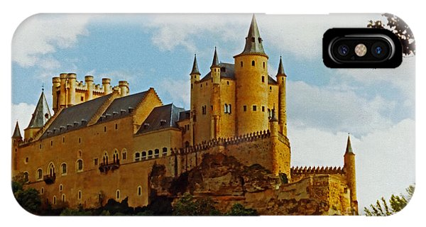 IPhone Case featuring the photograph Alcazar Castle In Segovia Spain by Ola Allen