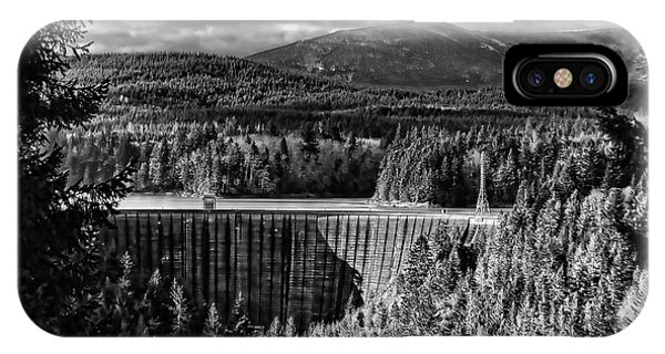 Alder Dam Near Mt Rainer Wa IPhone Case