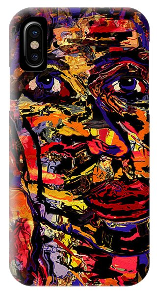 Mustard iPhone Case - Alejandro by Natalie Holland