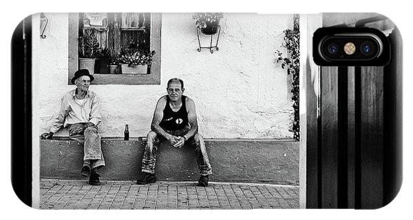 Horn iPhone Case - Alentejo Stories by Josefina Melo