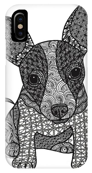 Alert - Chihuahua IPhone Case
