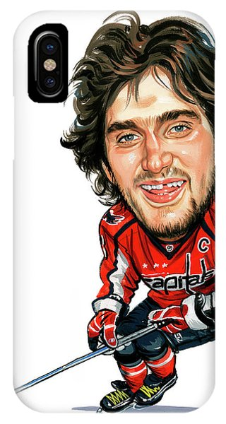 Alexander Ovechkin Phone Case by Art