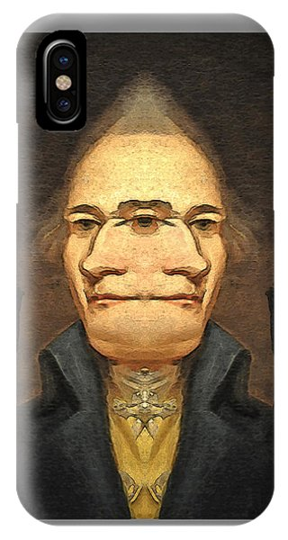 Alexander_hamilton 1 IPhone Case