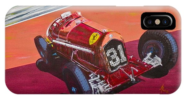 Alfa Romeo Tipo B P3  IPhone Case
