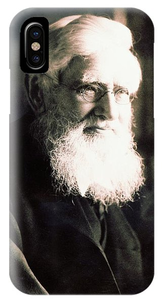 Alfred Russel Wallace Phone Case by American Philosophical Society