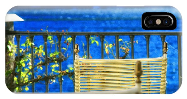 Alfresco Dining IPhone Case