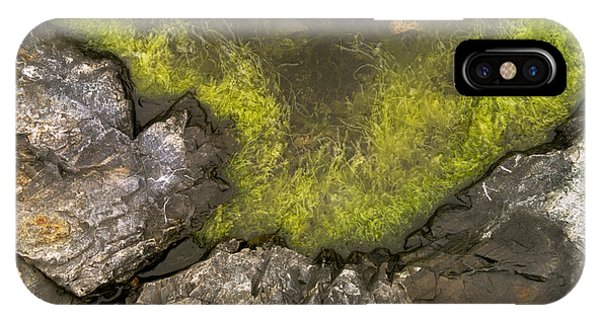 Algae Pool Abstract Photo Phone Case by Peter J Sucy