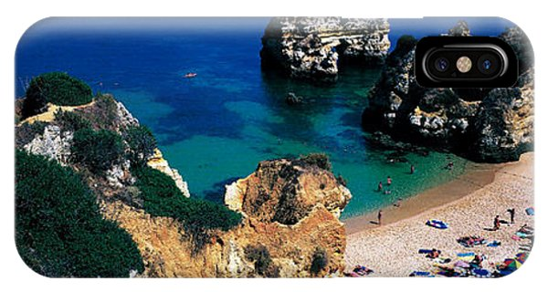 Sunbather iPhone Case - Algarve Portugal by Panoramic Images