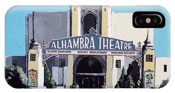 iPhone Case - Alhambra Theatre by Paul Guyer