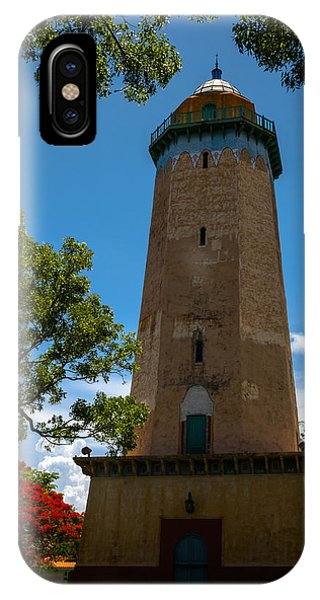 Alhambra Water Tower Of Coral Gables IPhone Case