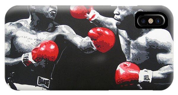 Ali V Tyson IPhone Case