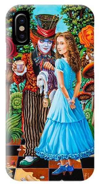 Alice And Mad Hatter. Part 2 IPhone Case