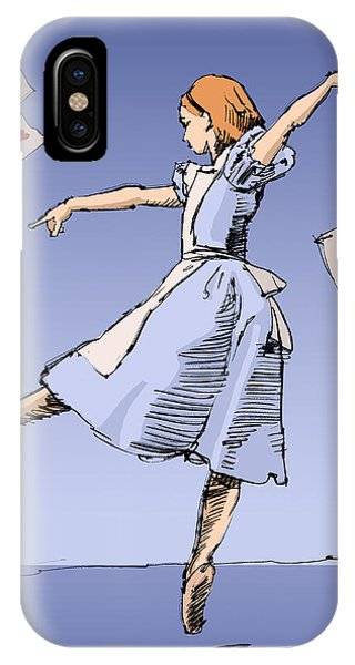 Alice In Wonderland iPhone Case - Alice by H James Hoff