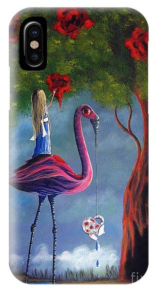 Alice In Wonderland Artwork  IPhone Case