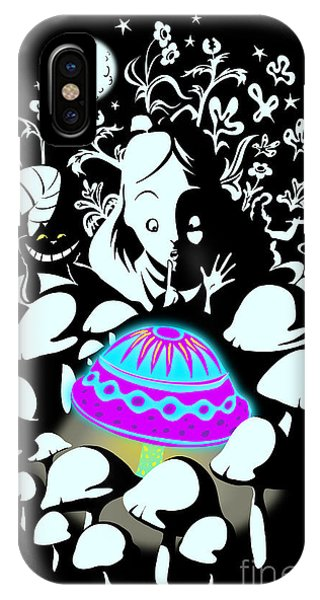Design iPhone Case - Alice's Magic Discovery by Sassan Filsoof