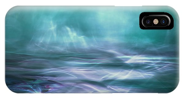 Dreamy iPhone Case - Alien Arctic Waters by Willy Marthinussen