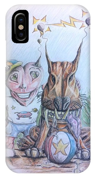 Alien Boy And His Best Friend IPhone Case