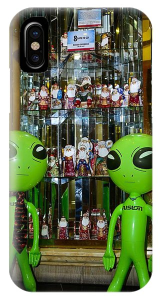 Alien Christmas Tour IPhone Case