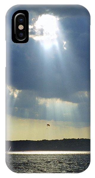Alien - Lake Geneva Wisconsin IPhone Case