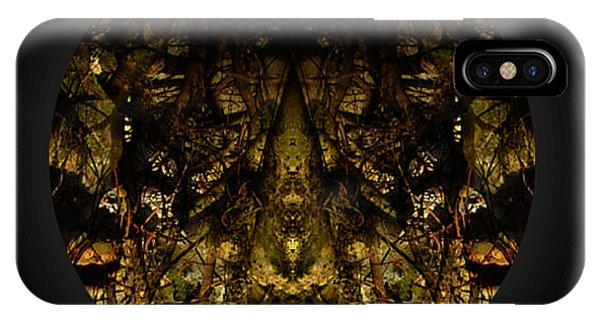 Alien Moth God Priest IPhone Case