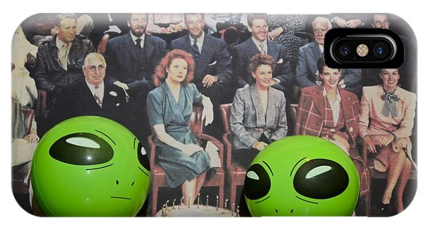 Alien Nostalgia IPhone Case