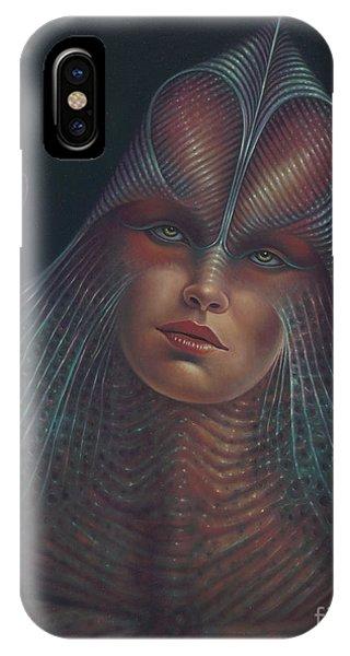 Alien Portrait Il IPhone Case