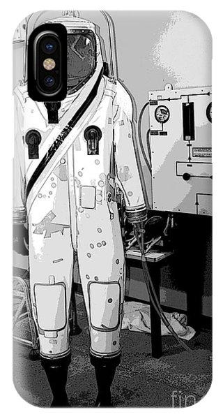 Kennedy Space Center iPhone Case - Alien Space Man by Allan  Hughes