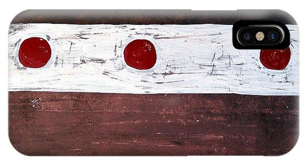 Alignment Original Painting IPhone Case