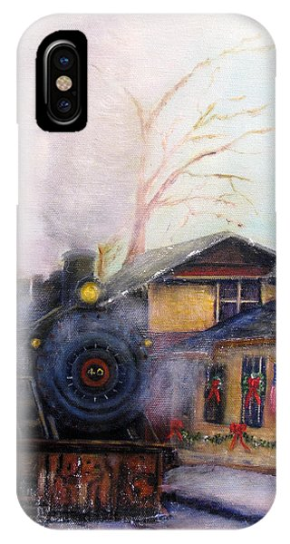 All Aboard At The New Hope Train Station IPhone Case