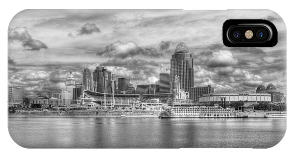 All American City 2 Bw IPhone Case