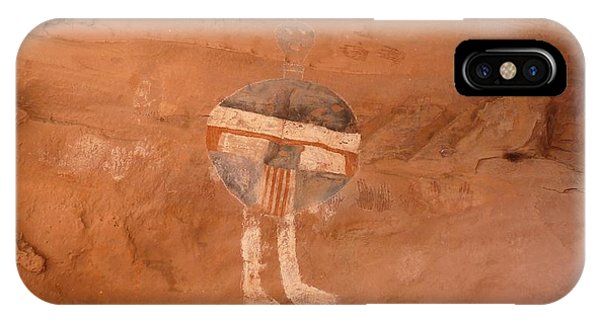 All American Man Pictograph IPhone Case