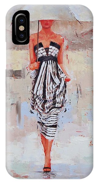 Women iPhone Case - All Dressed Up by Laura Lee Zanghetti