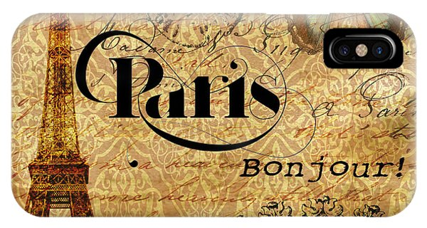 All Paris All The Time IPhone Case