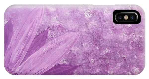 All Purple Flower IPhone Case