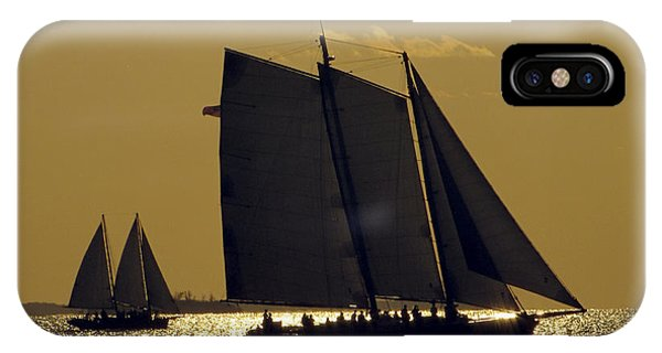 All Sails Sunset In Key West IPhone Case
